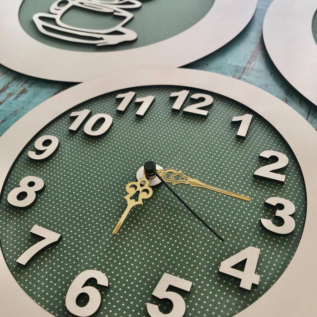 Relógio Decorativo em MDF